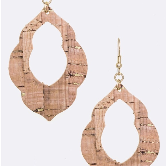 Jewelry - Cork Dangle Earrings